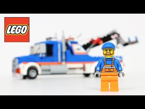 LEGO City Tow Truck 60056 Review Unboxing
