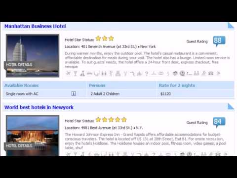 All Properties Search Module - Properties Booking System for Joomla - Joomla Hotel Booking System
