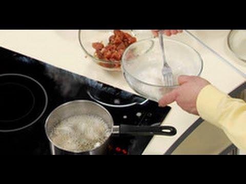 Кляр на крахмале с яичным белком для мяса по-китайски / шеф-повара /  Илья Лазерсон / Обед безбрачия