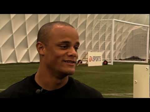 Vincent Kompany FIFA 12 Coaching Tutorial | Defending Crosses