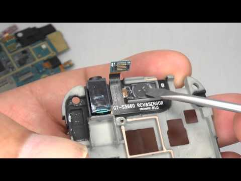 Galaxy Gio GT-S5660 Disassembly & Assembly - Screen & Case Replacement