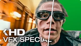 X-MEN Apocalypse - Quicksilver Scene VFX Breakdown (2016)