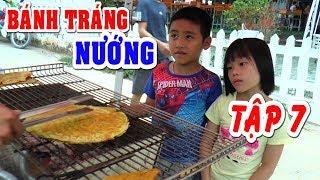 Bé Dương ăn bánh tráng nướng và mua nước ngọt bằng máy bán tự động❤Kênh Em Bé