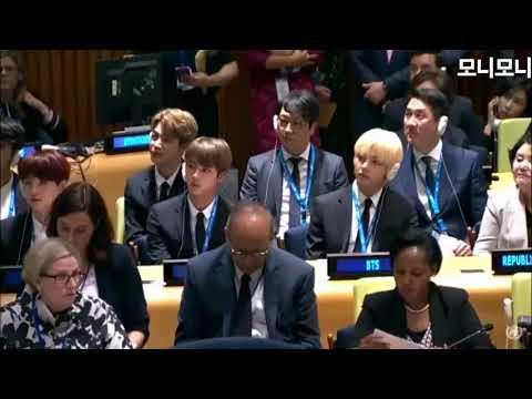 방탄소년단 유엔 깨알컷 BTS UN