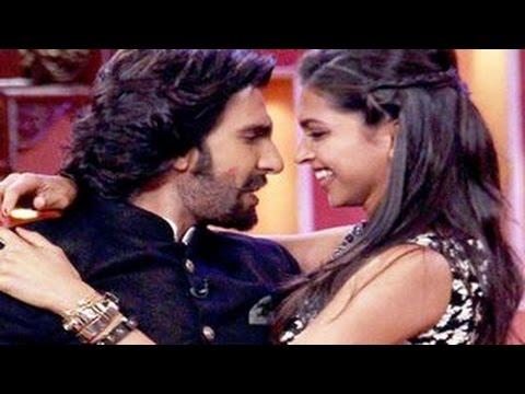 Ranveer Singh says I LOVE YOU to Deepika Padukone