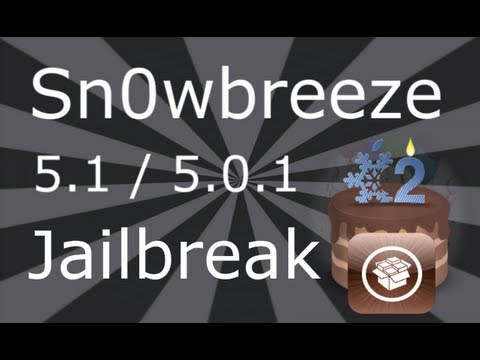 Sn0wbreeze Jailbreak 5.1.1 / 5.1 For iPhone 4, 3GS, iPod Touch 4, 3 & iPad Music Videos