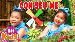 Con Yêu Mẹ ♫ Nhạc Thiếu Nhi Vui Nhộn Cho Bé Yêu