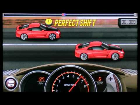 Drag Racing TUNE 9.498 level 5 1/4 Nissan GT-R R35