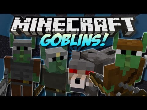 Minecraft | GOBLINS! (Tiny Green Rebels!) | Mod Showcase [1.5.1]