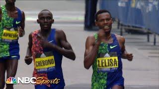 Boston Marathon 2019: Men's elite ends with epic photo finish | NBC Sports