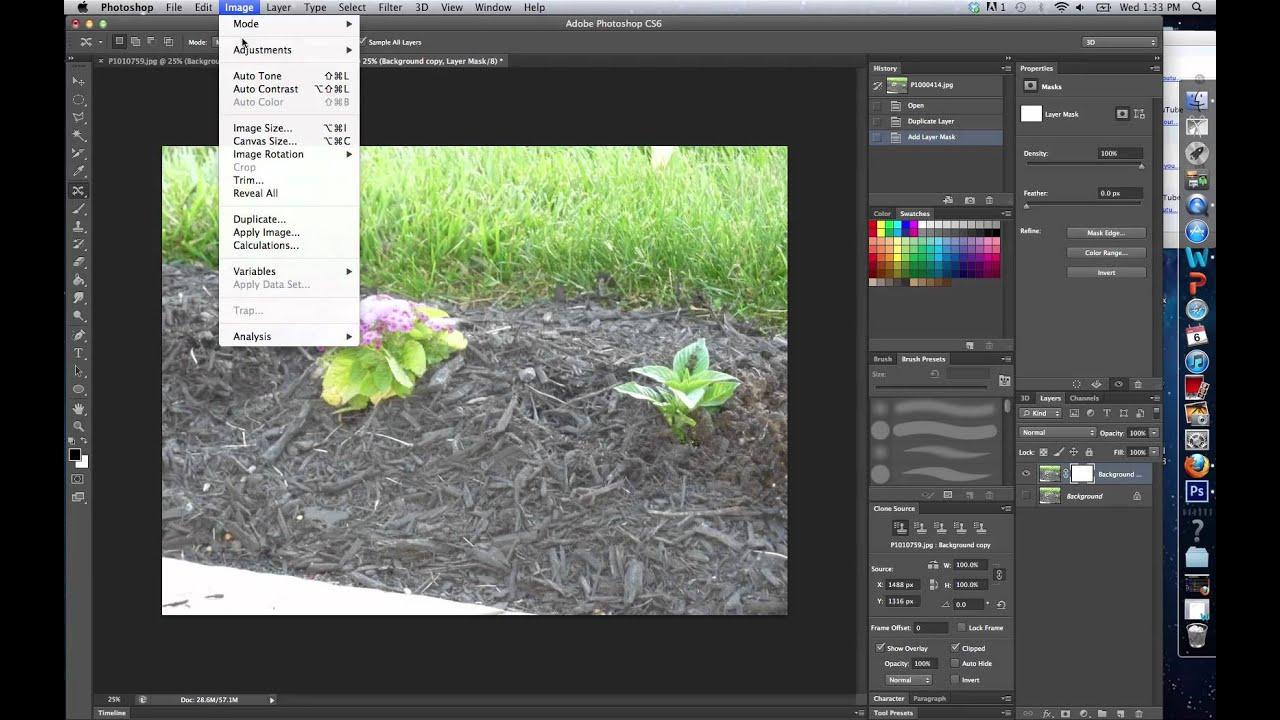 Как в фотошоп cs6 сделать черно-белую фотографию из цветной