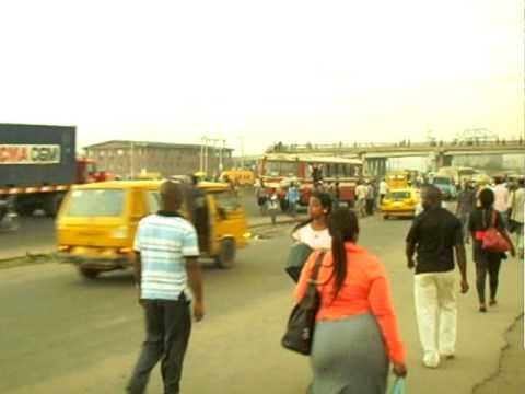 Choas - Street of Lagos Nigeria 2  -  Oct. 2010