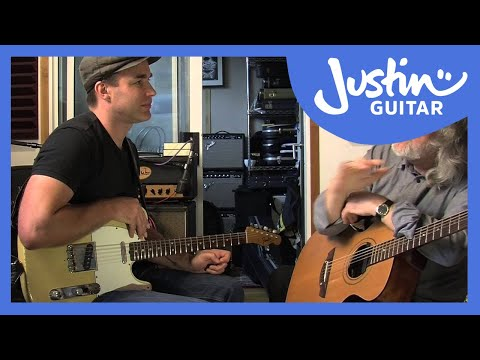 Gordon Giltrap Interview and little jam! (Acoustic Guitar Lesson MA-206)