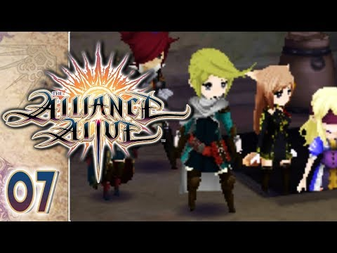 The Alliance Alive 3DS Part 7 THE CATACOMBS! Gameplay Walkthrough