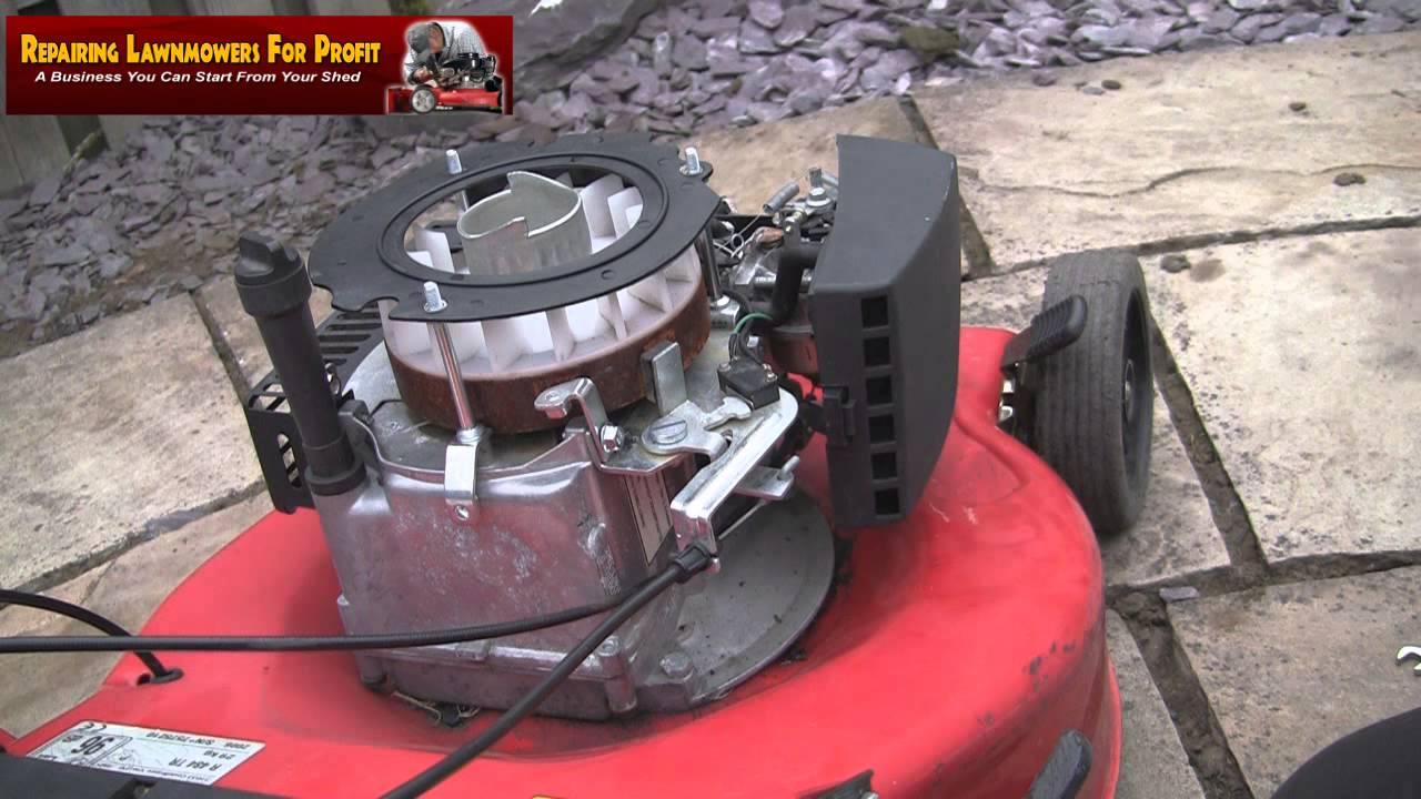 Repairing Lawnmowers For Profit Part 64  Replacing A Split