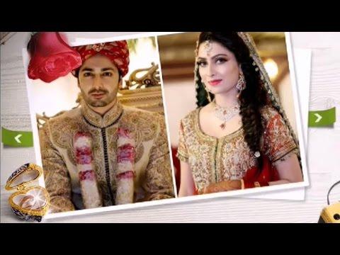 Aiza Khan and Danish Taimoor Barat Pictures
