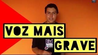 download musica Como deixa a voz mais grave em 5 MINUTOS DicasdoPaulo