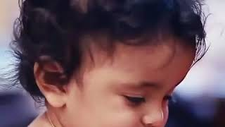 Cutest baby girl smile forever good morning clip