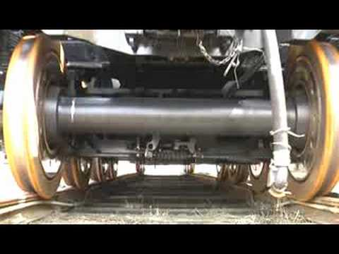 KIROW KRC 16 Railwaycrane - YouTube