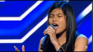 Very Shy 14 Year Old Marlisa SHOCKS Everyone & Gets STANDING OVATION - The X Factor Australia