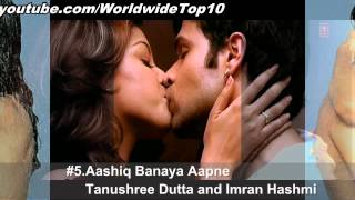 Best Bollywood Kisses - Top 10 Bollywood kisses - All Time