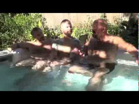Pt 2: In Hot Tub With The Guys Of Modern Bear: Book Signs, Teaser About Future Projects.... video
