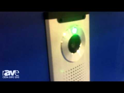 CEDIA 2015: TASHI Surveillance Goes Over Its Door Access Control Unit