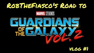 ROAD TO GUARDIANS OF THE GALAXY VOL. 2 PREMIERE | VLOG #1