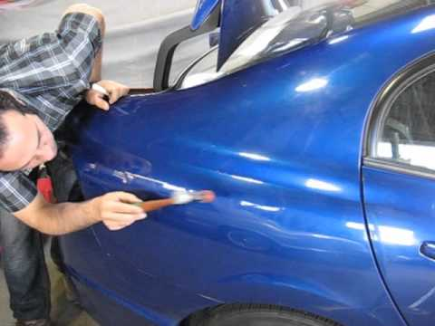 best paintless dent removal /repair/ fix #1