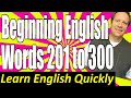 Frame from Basic English Speaking 3: Beginning English Vocabulary Lesson - Frequently Used Words