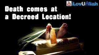 Death Comes At A Decreed Location| Islamic Reminder