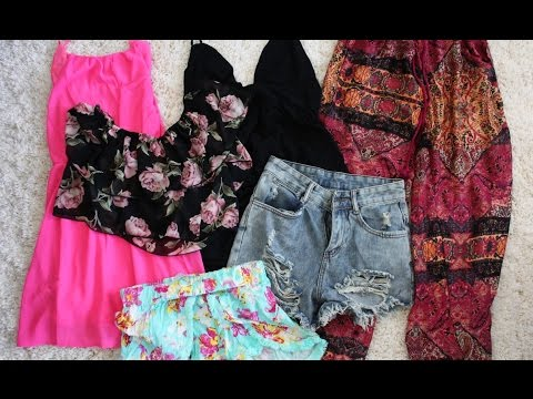 Another Summer Clothing Haul !! ♥