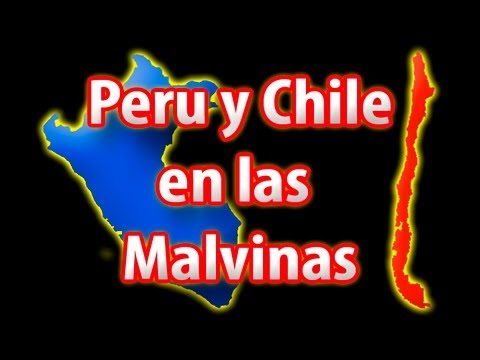 Peru y Chile en la Guerra de las Malvinas