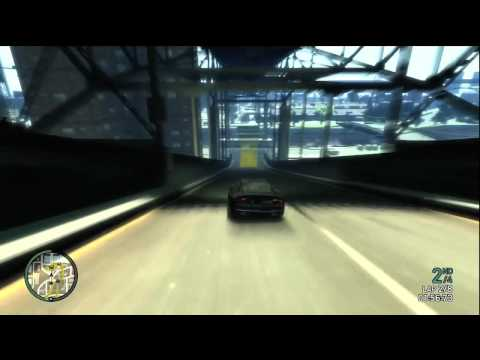 Grand Theft Auto 4 Multiplayer Race – Don't Look Down