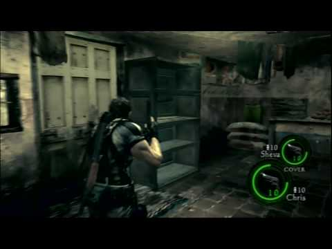 Resident Evil 5 PS3 Gameplay - Level 1