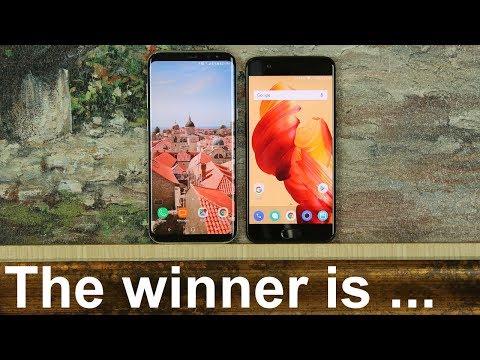 OnePlus 5 vs Samsung Galaxy S8+ Full Comparison