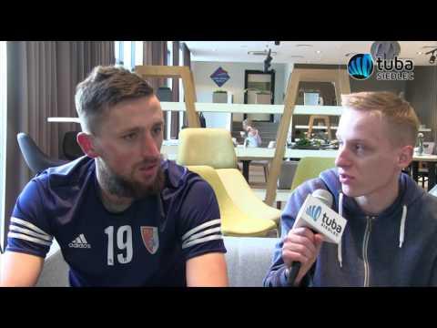 Wywiad z zawodnikiem Pogoni Siedlce Piotrem Mrozińskim