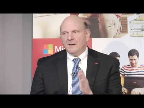 2013 Interview with Steve Ballmer