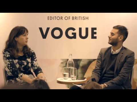 British Vogue Editor Alexandra Shulman - Topshop Talks