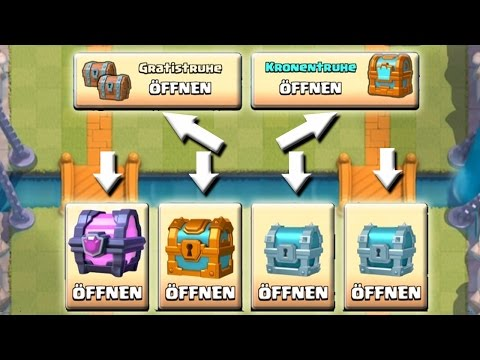 TRUHEN ÖFFNEN || CLASH ROYALE || Let's Play Clash Royale [Deutsch/German HD+]