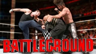 WWE Battleground 2016 Review - THE SHIELD TRIPLE THREAT!?