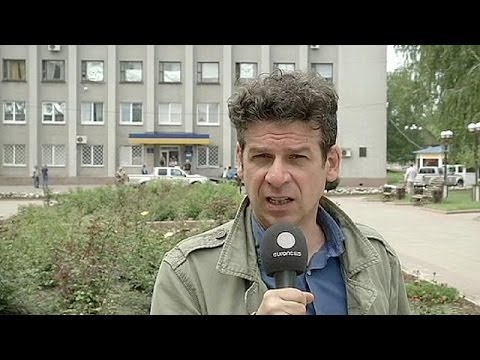 Ukraine: voters in Donetsk unable to vote after gunmen close down polling stations