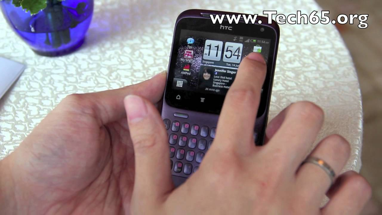 Htc Chacha Purple Htc Chacha First Look