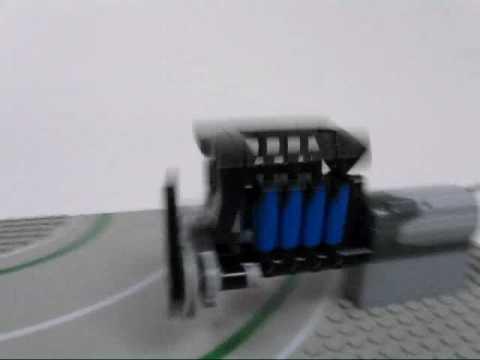 Lego Rocking Pneumatic Compressor