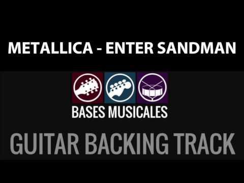 Enter Sandman - Metallica   Guitar Backing Track