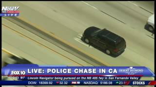 FNN: Very Long Police Chase Through Southern California