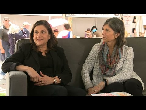 Cynthia D'Aprix Sweeney & Anna Quindlen | 2016 L.A. Times Festival of Books