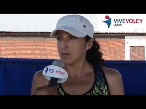 Patricia Aranda podría jugar por la selección de vóley (VÍDEO)