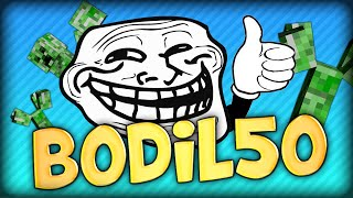 BODIL50 IS A BIG TROLL :OOOO AND DEADLOX IS BETTER THAN GHOST - Minecraft Battle Parkour SPM Escape