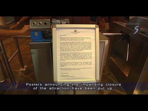 Underwater World Singapore to close June 26